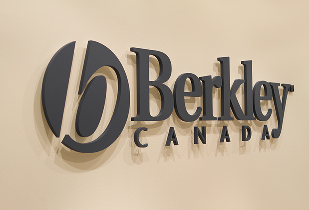 B E R K E L Y C A N A D A 3d Corporate Logo Graphic