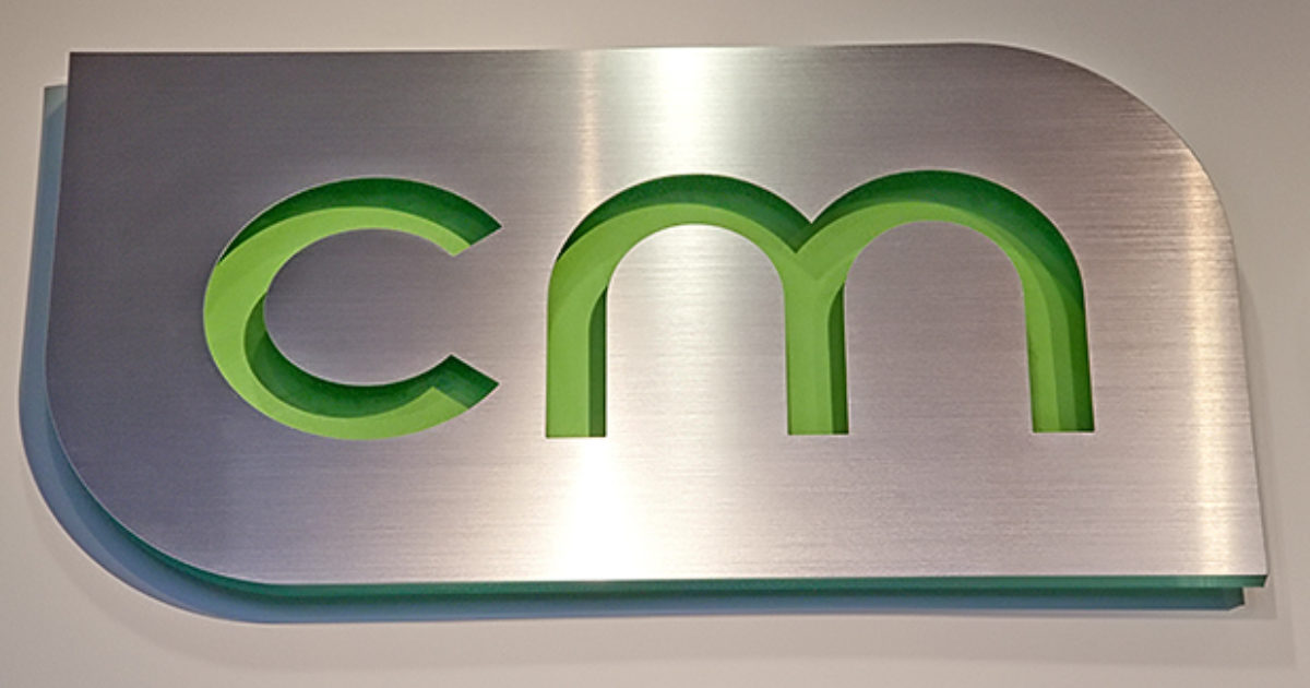 Aluminum Metal 3d Office Sign Metal Sign With Brushed