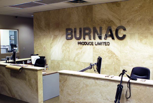 Wall Office Design Corporate Logo Sign Made Of Chrome