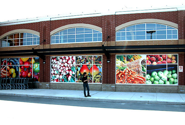 Whole Foods Market Full Color Digital Printing On