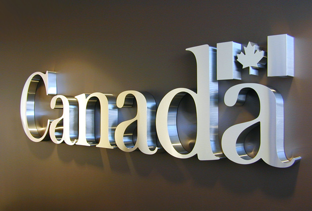 3d Metal Signs Metal Signs Office Sign Wall Sign Interior Corporate Signage