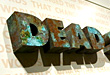 3D WALL SIGN WITH RUSTED AND PATINA FINISHES, design office metal sign, custom design 3d metal signs sign design design 3d signs sign designs, signs plaques