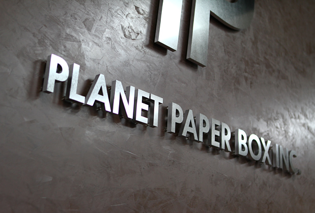 Wall Decor For Corporate Office : Planet paper wall corporate office dimensional sign