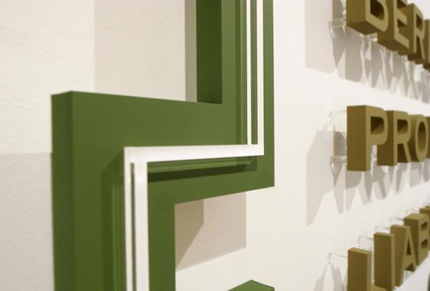 Office Signs 3D Corporate IDEAS Custom