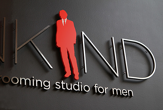 wall mirror 3d sign office corporate logo sign design design interior 3d sign - Sign Design Ideas