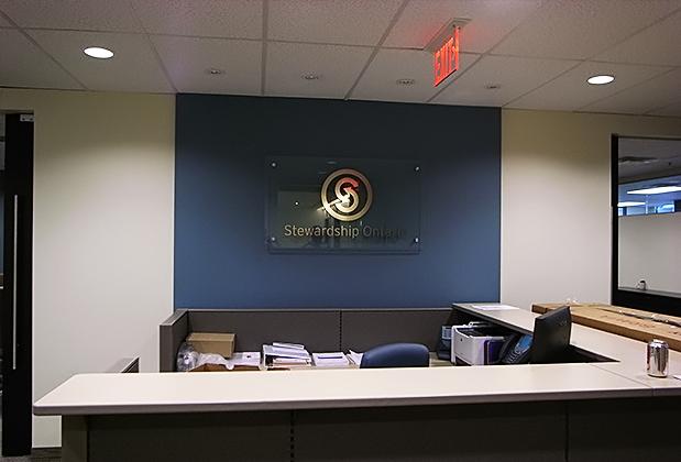 interioroffice signage
