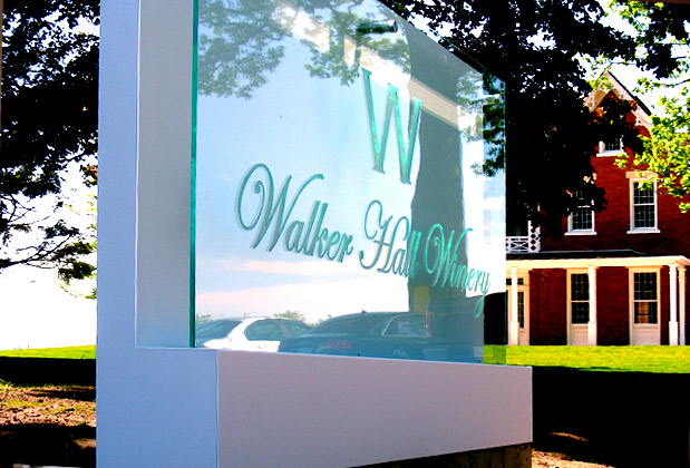 Office de sign for corporate office wall high class signs 3d sign for Exterior office signs